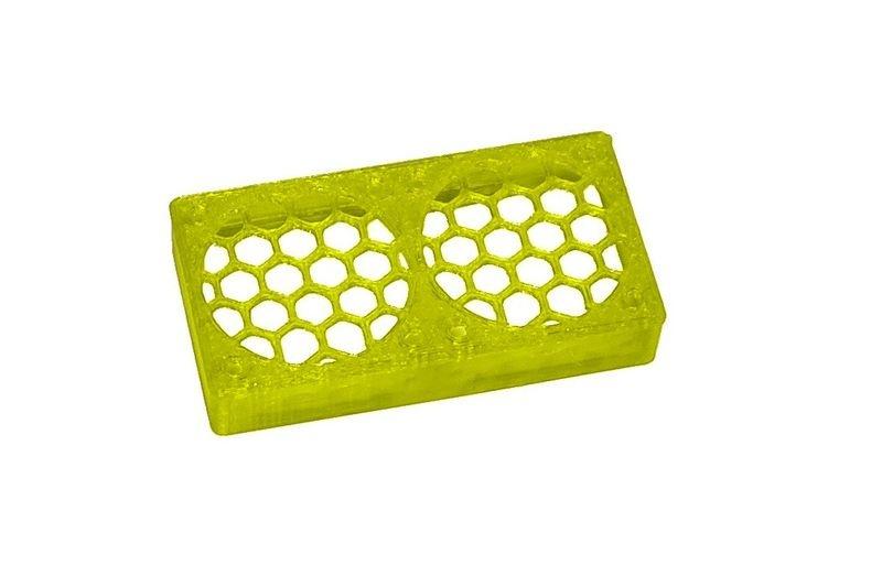 JS-Parts ultraflex Lüftergitter 2x30x10 geschlossen gelb