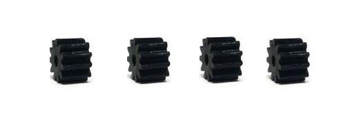 NSR SW Soft Plastic Pinions 11T (4) Black 6.75mm