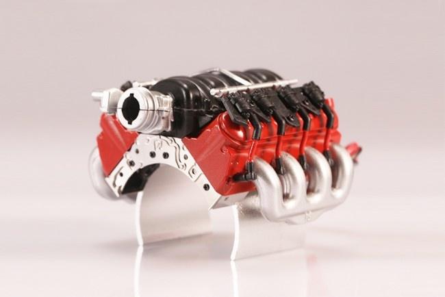 GPM V8 LS3 engine radiator for Traxxas TRX-4 Defender