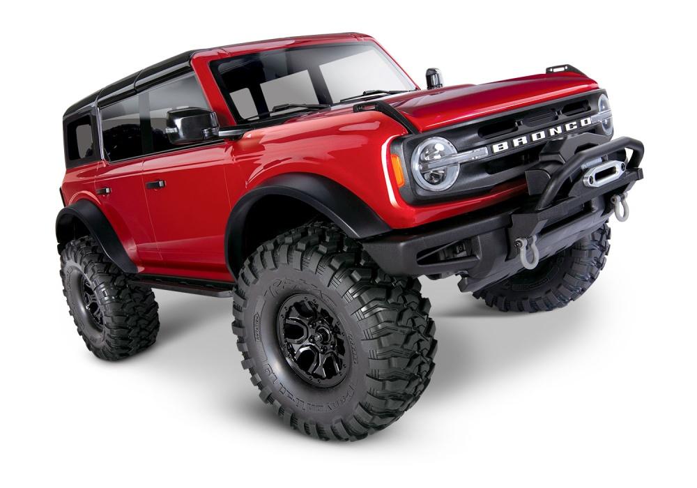 Traxxas TRX-4 2021 Ford Bronco rot RTR o.Akku/Lader