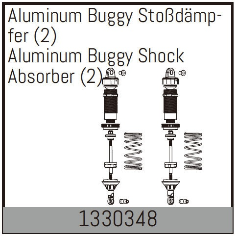 Absima Aluminum Buggy Stoßdämpfer (2)