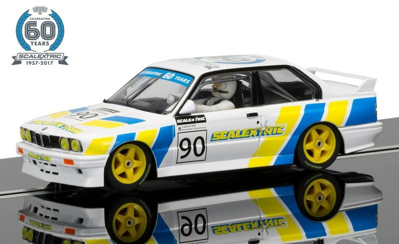 Scalextric 60 J. Collection Car No.3 - 1990s  BMW M3 E30