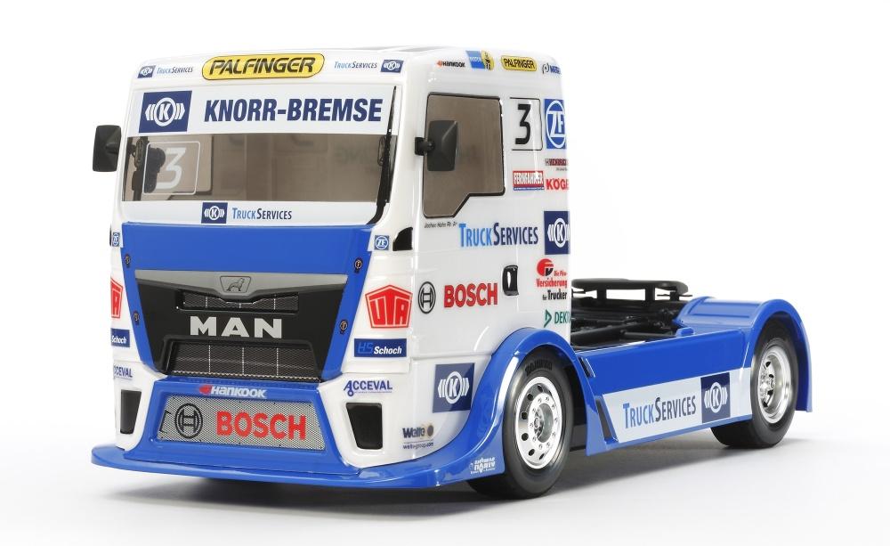 Tamiya RC Racing Truck Team Hahn Racing (TT-01E) Bausatz