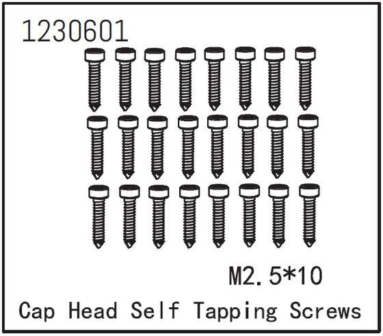 Absima Zylinderschraube selbstschneidend M2..5*12 (24)
