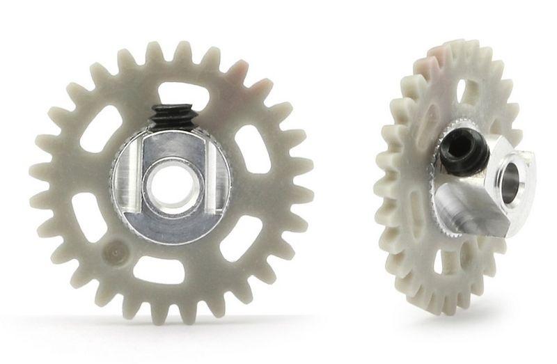NSR AW 3/32 Plastic Gear/Zahnrad 28T w/alu hub - 16mm