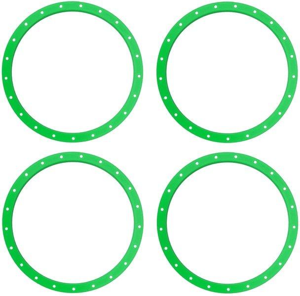 JS-Parts Felgenringe für Louise RC MFT 1:5 grün /
