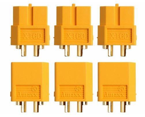 Goldkontakt XT60, 3 Paare