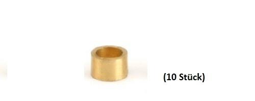 NSR Axle Spacers/Achsdistanzen 3/32 .080 BRASS (10)