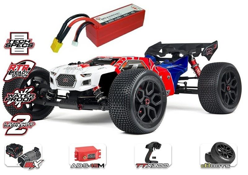 Arrma Talion 6s BLX 4WD E-Speed Truggy 2.4GHz 1:8-SPARSET 1-