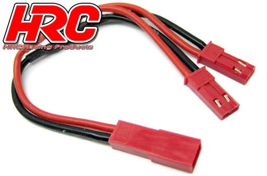 HRC Adapter - für 2 Akkus in Parallele - BEC/JST Stecker