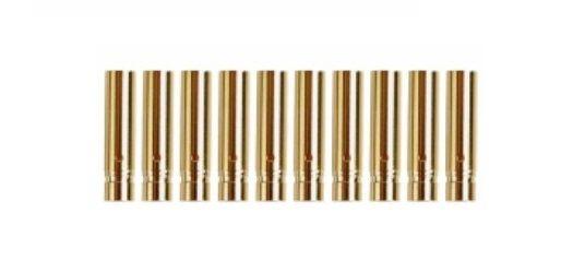 Yuki Model Goldkontakt 4,0mm - Lötkelch geschlossen