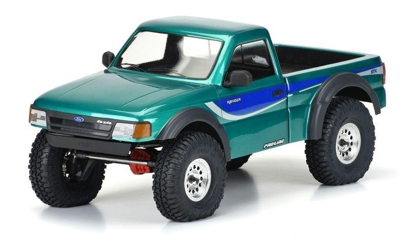 Pro-Line 1:10 1993 Ford Ranger Scale-Karo klar für