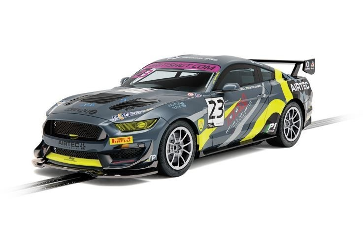 Scalextric 1:32 Ford Mustang GT4 Brit. RA.P GT19 HD
