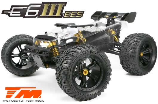Auslauf - Team Magic E6 III BES 4WD Electric Monster Truck