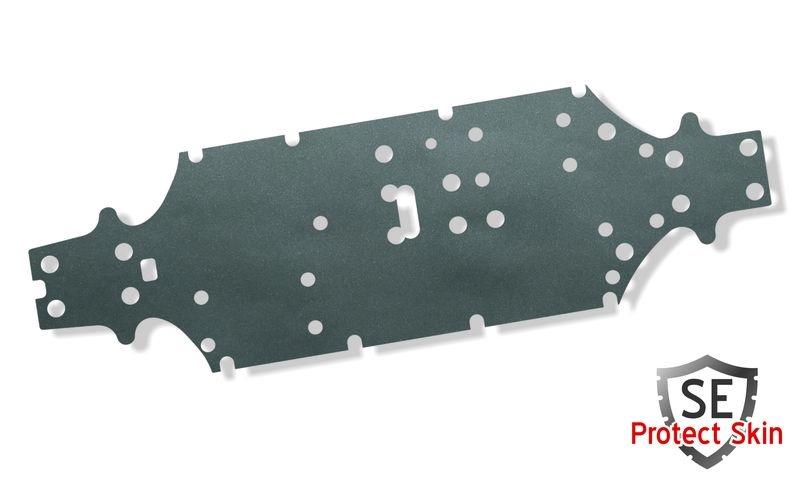 JS-Parts SE Protect Skin Unifarbe Anthrazit Metallic