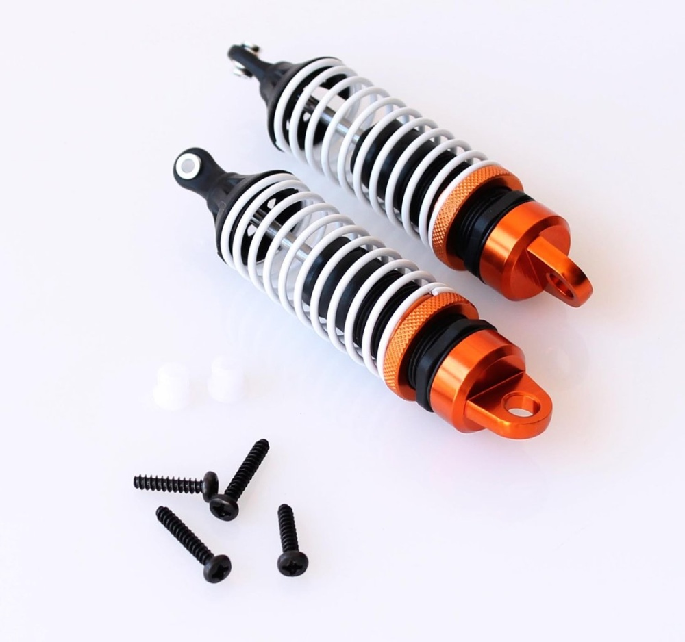 DF-Models Stoßdämpfer (2) Alu orange