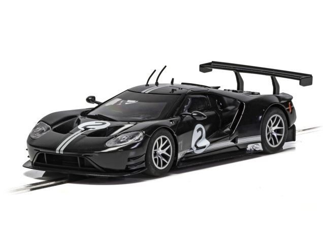 Scalextric 1:32 Ford GT GTE Black #2 Heritage Edition HD