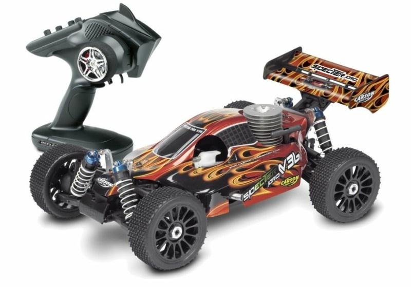 Carson Specter II Pro V36 4WD Nitro-Buggy 2.4GHz