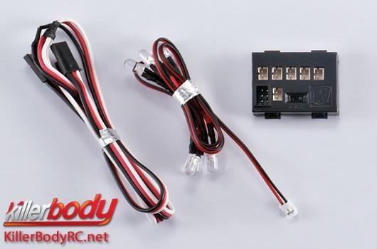 Killerbody Lichtset - 1:10 Scale - LED