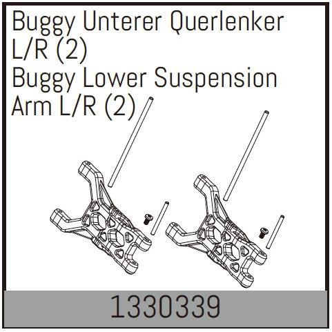 Absima Buggy Unterer Querlenker L/R (2)
