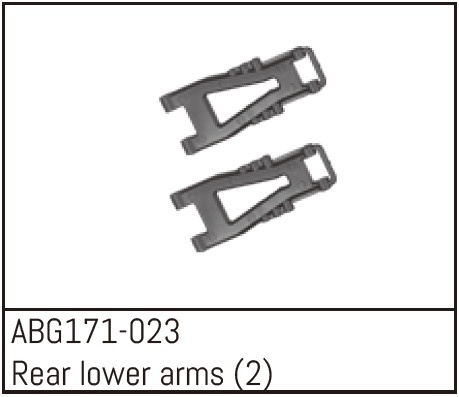 Absima Rear Lower Arms (2)