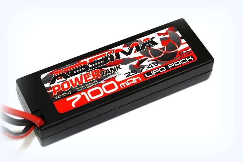 Absima Power Tank LiPo Stick Pack 7.4V-60C 7100mAh HC