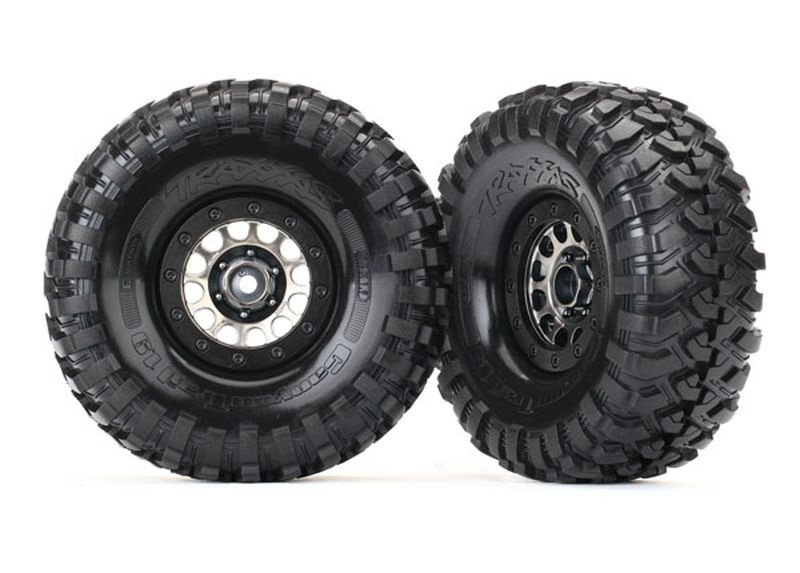 Traxxas Reifen auf Felge Canyon Trail 1.9 auf Method 105