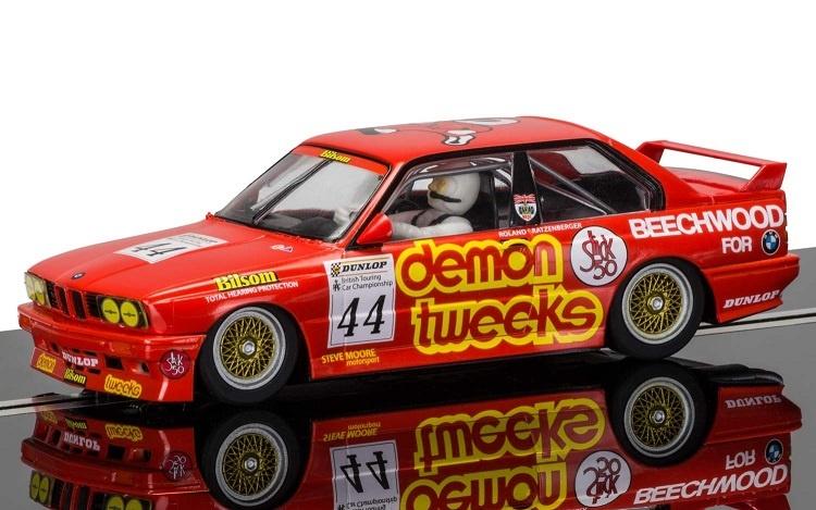 Scalextric BMW E30 M3 #44 1988 Demon Tweeks