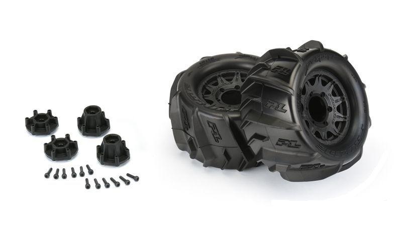 ProLine Dumont 2.8 Sand/Schnee MT-Reifen auf Raid 6x30 Felge
