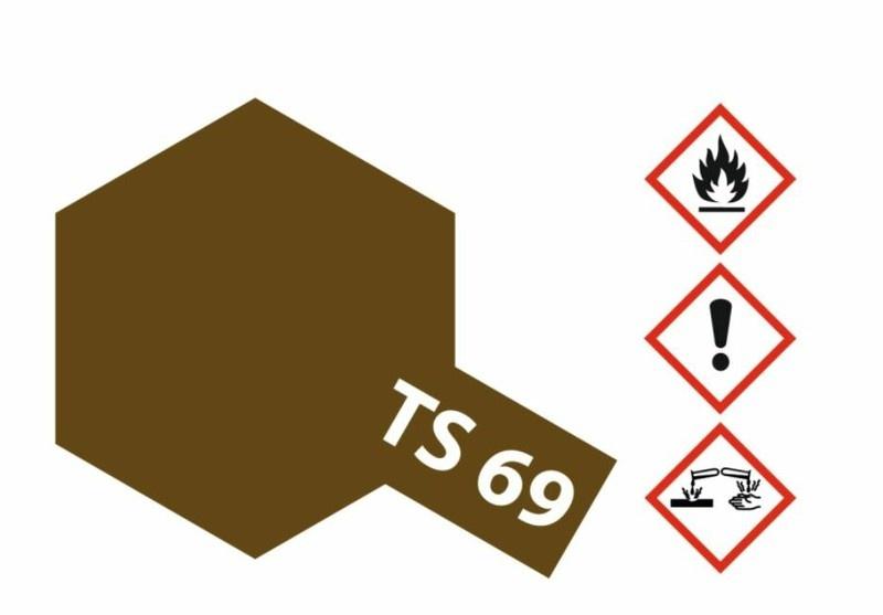 Tamiya Acryl-Sprühfarbe TS-69 Linoleum Deck Braun matt 100ml