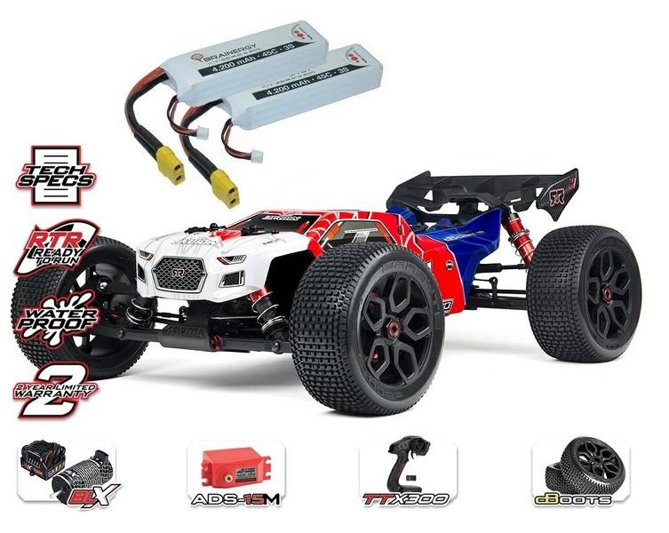 Arrma Talion 6s BLX 4WD E-Speed Truggy 2.4GHz 1:8-SPARSET 2-