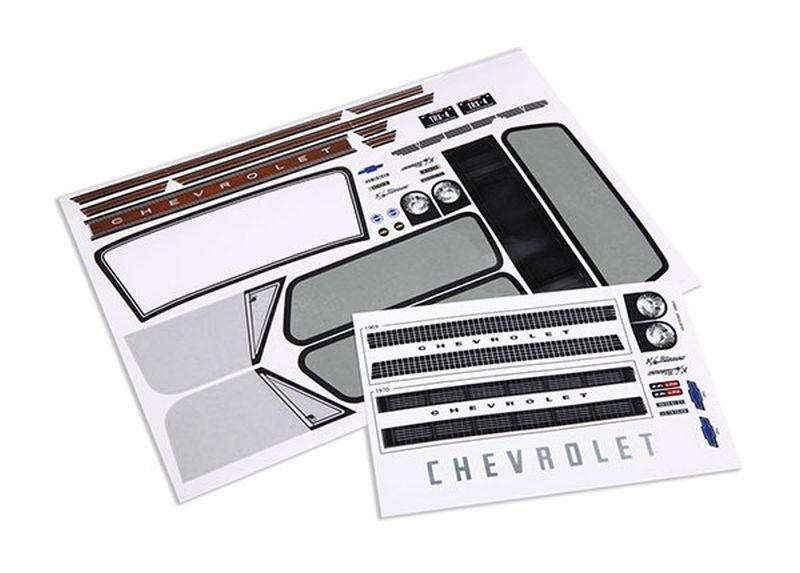 Traxxas Aufkleberbogen Chevrolet Blazer 1969-1970