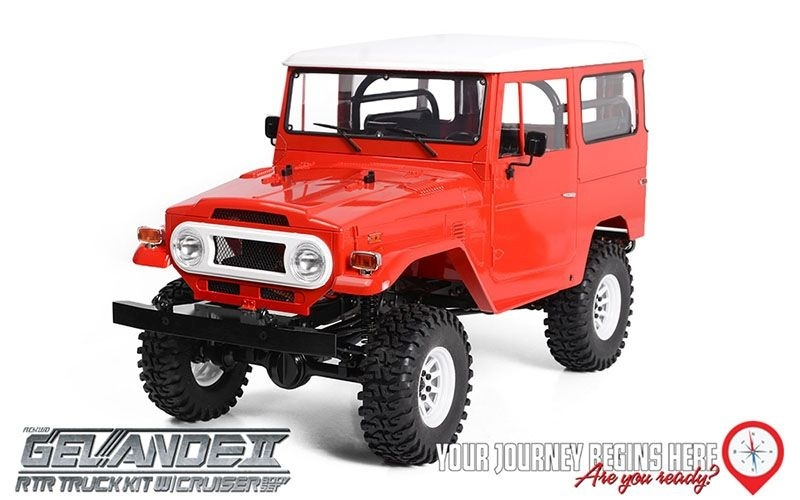RC4WD 1/10 Gelande II RTR Truck w/ Cruiser Body Set