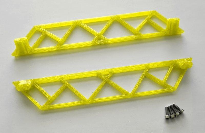 JS-Parts ultraflex Sidebar für Traxxas X-Maxx gelb