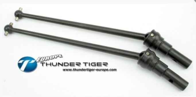 Thunder Tiger CVD-Antriebswellen vorne komplett