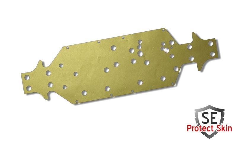JS-Parts SE Protect Skin Unifarbe Gold Metallic