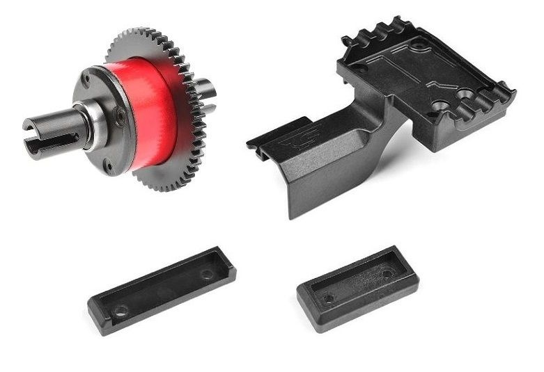 Team Corally - Center Diff Spacer - 4mm (1) & Center Diff