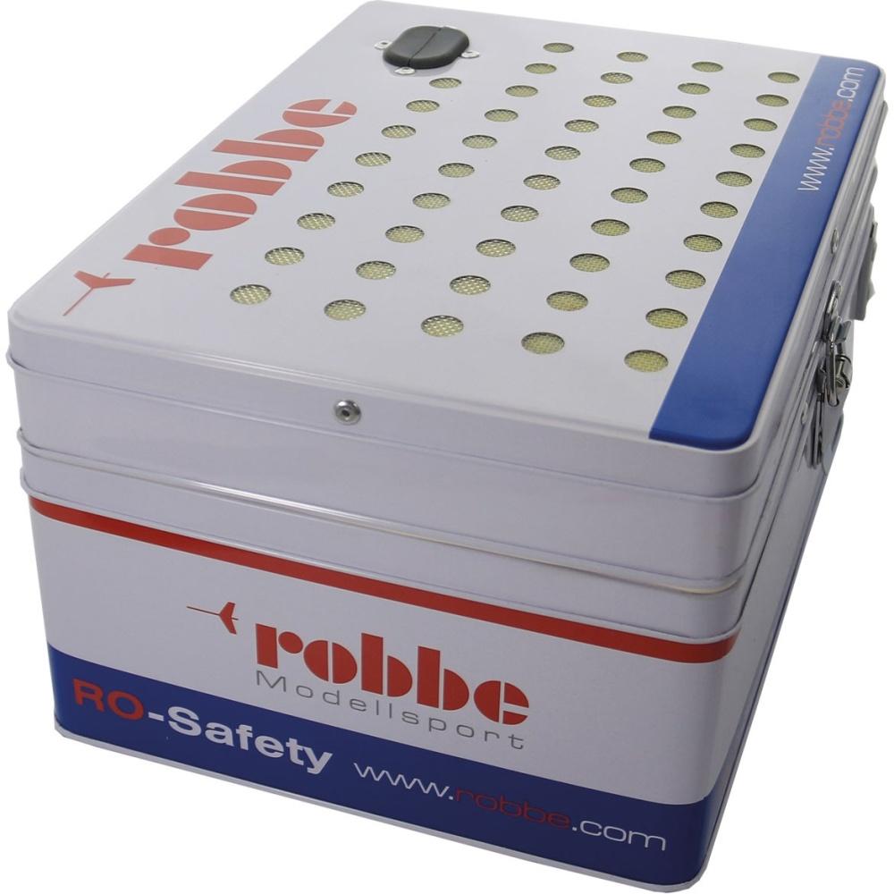 Robbe RO-SAFETY LIPO Tresor Transport und Ladekoffer für