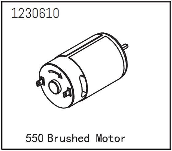 Absima 550 Brushed Motor