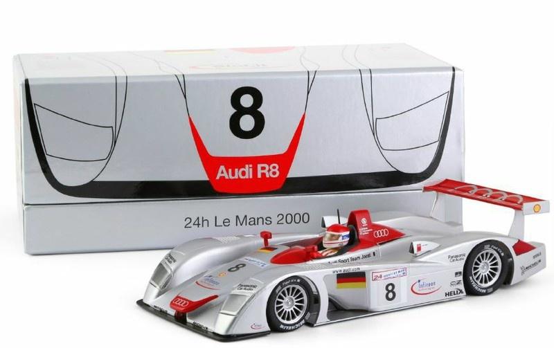 Slot.it Audi R8 LMP No.8 1st 24h Le Mans 2000