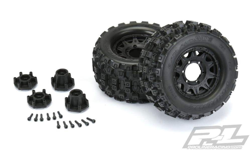 ProLine Badlands MX28 All Terrain Truck Reifen v/h (2) 2.8
