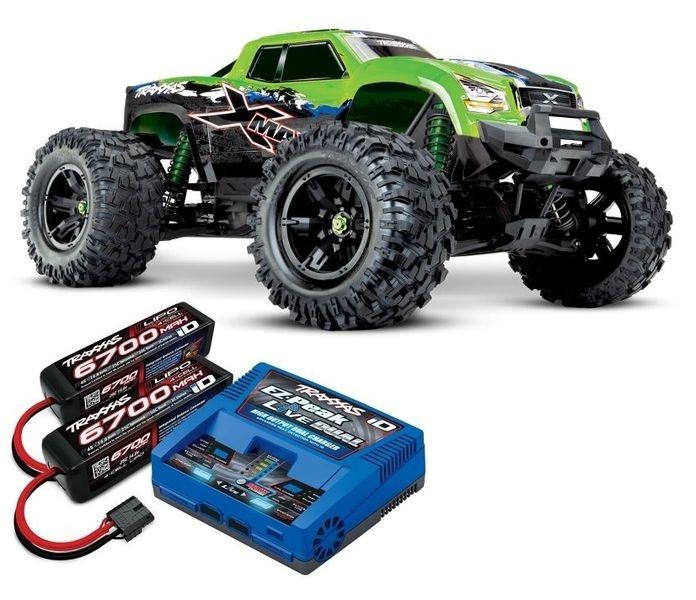 Traxxas X-Maxx 4x4 E-Monstertruck BL TQi2.4GHz TSM 8S VXL +