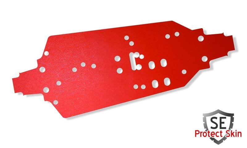JS-Parts SE Protect Skin Unifarbe Rot