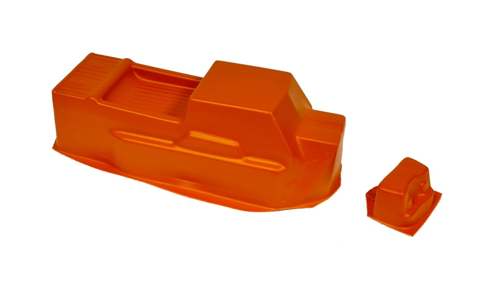 Probodyrc unbreakable Body für Tekno ET48 2.0 orange