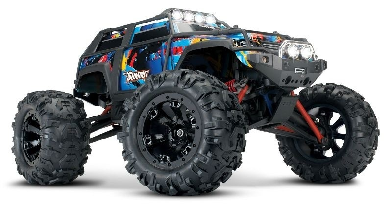 Traxxas Summit 4WD Brushed Monster Truck Rock and Roll
