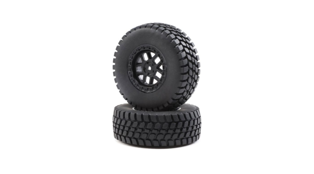 Losi Alpine Wheel and Tire Mounted (2): BR (LOS43025)