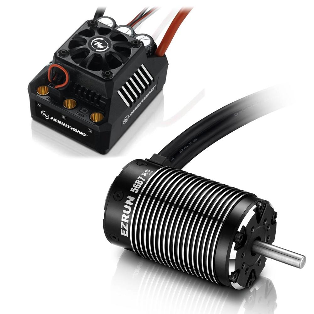 Hobbywing Ezrun MAX6 Combo SL 5687 1100kV Sensorless