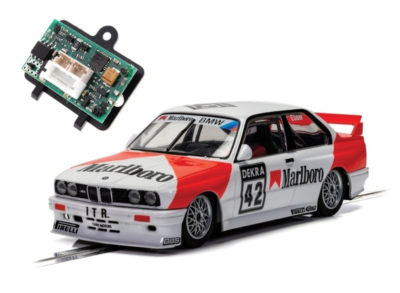Scalextric 1:32 BMW E30 M3 DTM 1991 Cor Euser HD --SET--