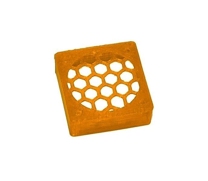 JS-Parts ultraflex Lüftergitter 30x10 geschlossen orange