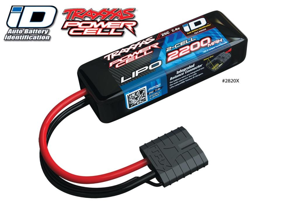 Traxxas iD Power Cell LiPo 2200mAh 7.4V 2-cell 25C